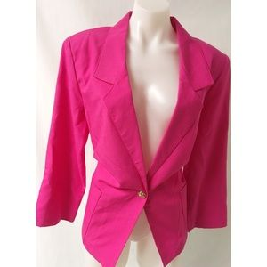 Pink Vintage Blazer Size 14Petite